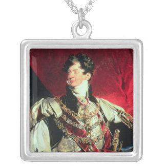 The Prince Regent, later George IV 2 Silver Plated Necklace