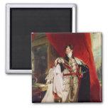 The Prince Regent, later George IV Fridge Magnets