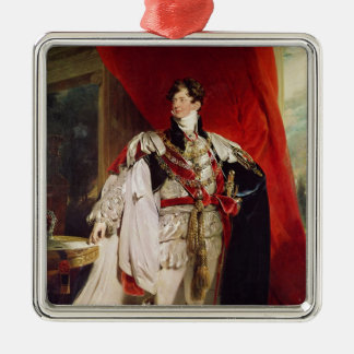 The Prince Regent, later George IV Metal Ornament