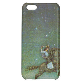 The Prince Rides in Moonlight by John Bauer Sweden Cover For iPhone 5C
