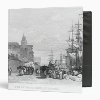 The Prince's Dock, Liverpool 3 Ring Binder