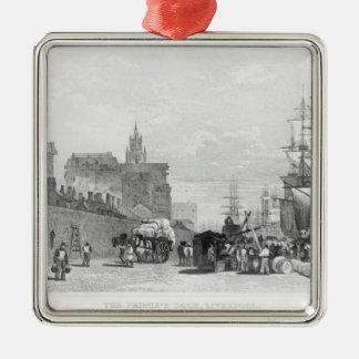 The Prince's Dock, Liverpool Metal Ornament