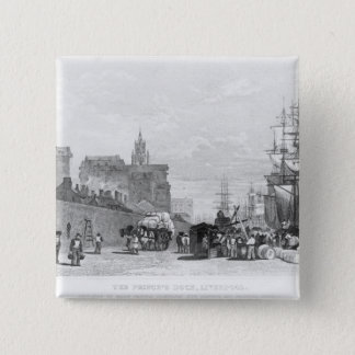 The Prince's Dock, Liverpool Pinback Button