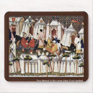"""The Princes Of The Orient"""" By Meister Der 'Cité D Mouse Pad"""