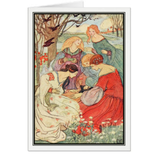 The Prince's Progress by Florence Harrison Greeting Card