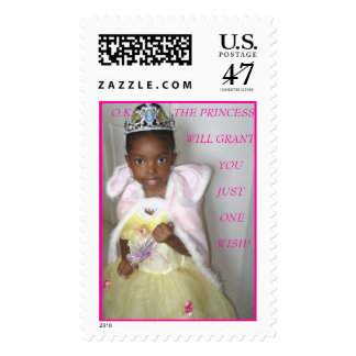 THE PRINCESS-  AJA        POSTAGE
