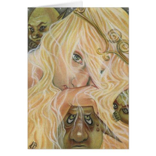 The Princess and Goblin Card