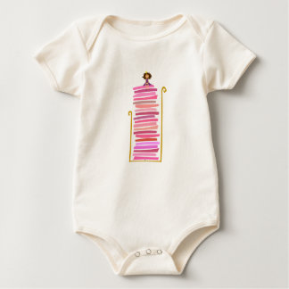 The Princess and the Pea Baby Bodysuit