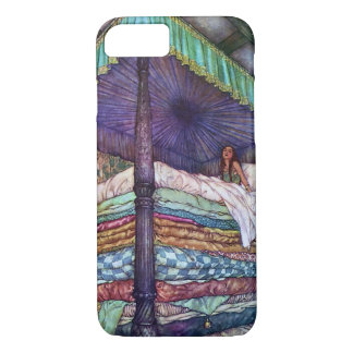 The Princess and the Pea by Edmund Dulac iPhone 8/7 Case