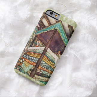 The Princess and the Pea Fairy Tale Illustration Barely There iPhone 6 Case