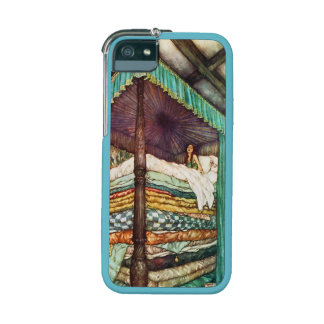 The Princess and the Pea Fairy Tale Illustration iPhone 5/5S Cases