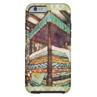 The Princess and the Pea Fairy Tale Illustration Tough iPhone 6 Case