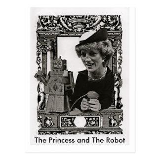 The Princess and the Robot, Postcard