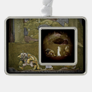 The Princess and Trolls Walk Through Forest Ornament