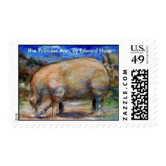 The Princess Ann Commemorative Postage Stamp