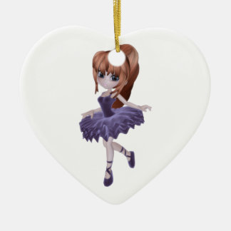 The Princess Ballerina Ceramic Ornament
