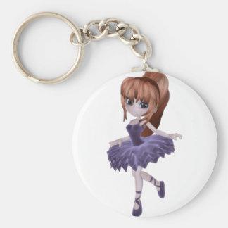 The Princess Ballerina Key Chains