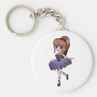 The Princess Ballerina Keychain