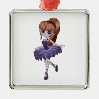 The Princess Ballerina Metal Ornament