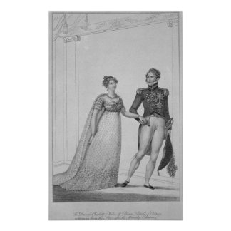 The Princess Charlotte of Wales and Prince Poster