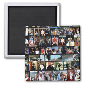 The Princess Diana Collection montage 3 Magnet
