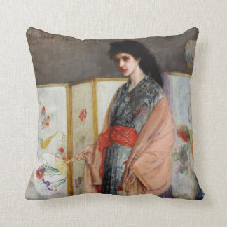 The Princess from the Land of Porcelain Throw Pillow