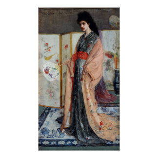 The Princess from the Land of Porcelain, Whistler Poster