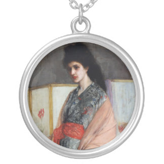 The Princess from the Land of Porcelain, Whistler Round Pendant Necklace
