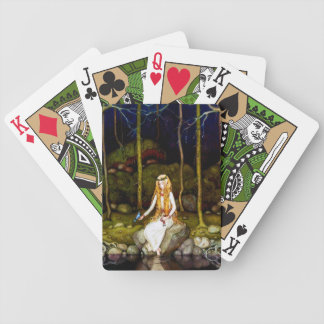 The Princess in the Forest Bicycle Playing Cards