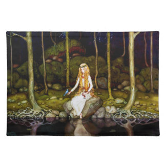 The Princess in the Forest Cloth Placemat