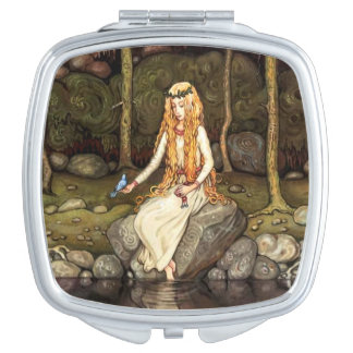 The Princess in the Forest Makeup Mirror