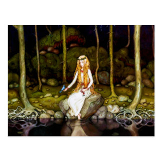 The Princess in the Forest Postcard