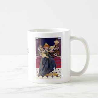 The Princess Lost Her Shoe Nursery Rhyme Classic White Coffee Mug