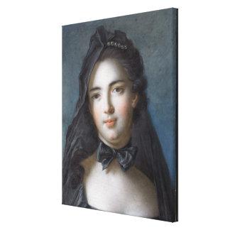 The Princess of Beauveau, nee Sophie Charlotte de Canvas Print