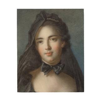 The Princess of Beauveau, nee Sophie Charlotte de Wood Print