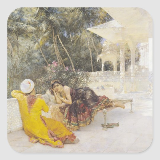 The Princess of Bengal, c.1889 Square Sticker