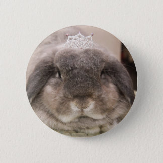 The princess of parsley pinback button