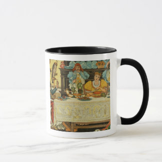 The Princess Shares her Dinner with the Frog, from Mug