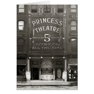 The Princess Theatre, 1910 Greeting Cards