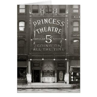 The Princess Theatre, 1910 Card