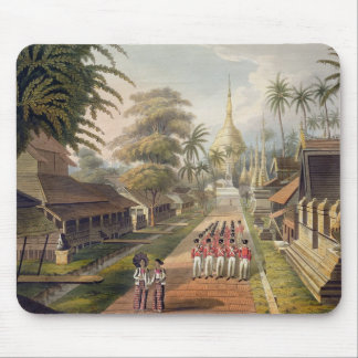 The Principal Approach to the Great Dagon Pagoda a Mousepads
