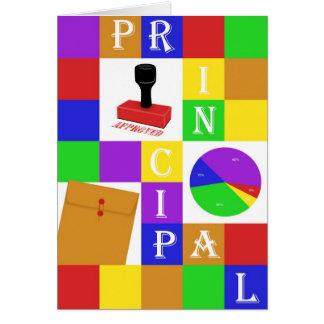 The Principal Greeting Card