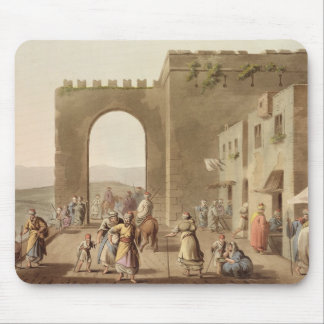 The Principal Street in Bethlehem, from 'Views of Mouse Pad