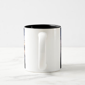 The printing and pattern is shiny and beautiful. Two-Tone coffee mug