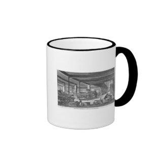 The printing presses room ringer coffee mug