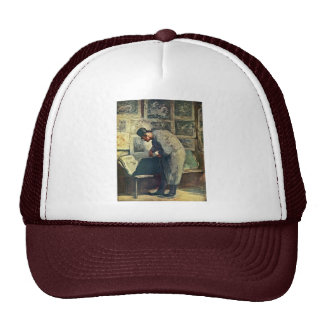The Prints And Lovers By Daumier Honoré Trucker Hat