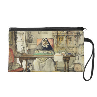 The Prior, from 'Sketches of Spain', engraved by C Wristlet Purse
