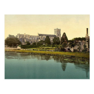 The Priory Church, Christchurch, England classic P Post Card