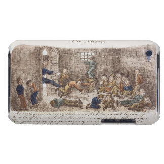 The Prison, 1858 (coloured engraving) iPod Case-Mate Case