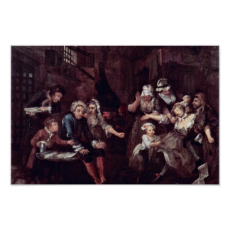"The Prison "" By Hogarth William (Best Quality) Poster"